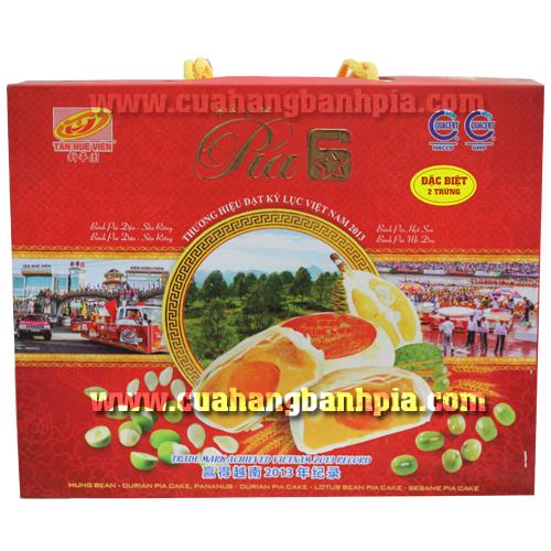 Bánh Pía Tân Huê 6 sao 2 trứng