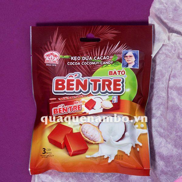 Kẹo dừa nguyên chất bà 2 Tỏ 150g