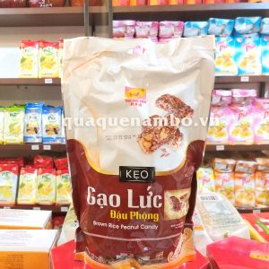 Kẹo gạo lức đậu phộng THV 250g