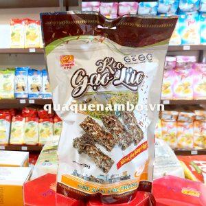 Kẹo gạo lức mè đen THV 250g