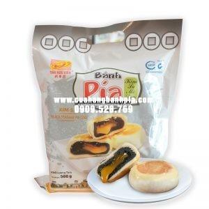Bánh pía kim sa mè đen túi 500g