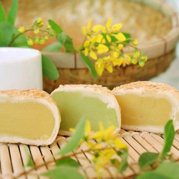 Bánh Long Châu đậu xanh Tân Huê Viên 200g