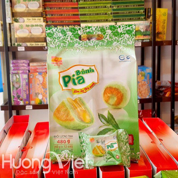 Bánh pía kim sa trà xanh Tân Huê Viên 12 bánh